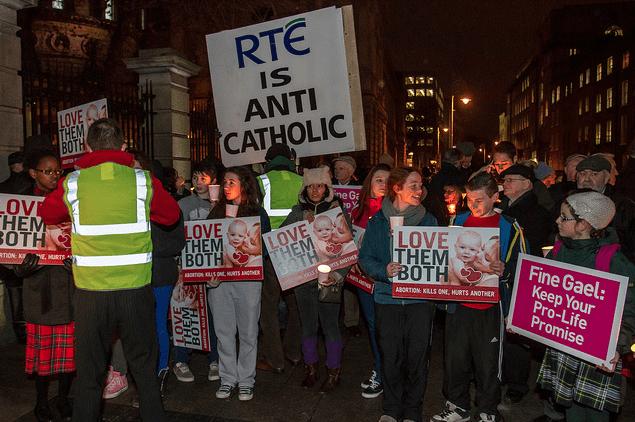 RTÉ is Anti Catholic